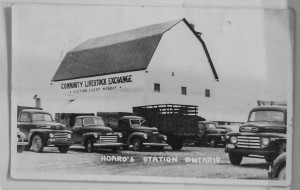 The exterior of the building 1949/50 era.